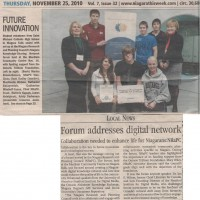 Niagara Knowledge Exchange article Niagara This Week Nov 25, 201