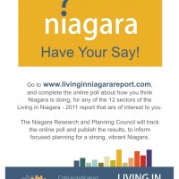 Living In Niagara Report 2011 Opinions_2