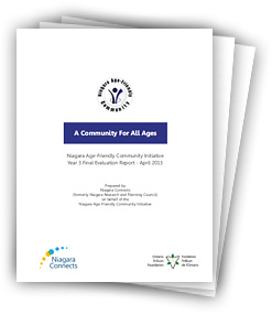 Niagara Age-Friendly Community Initiative Final Evaluation Report