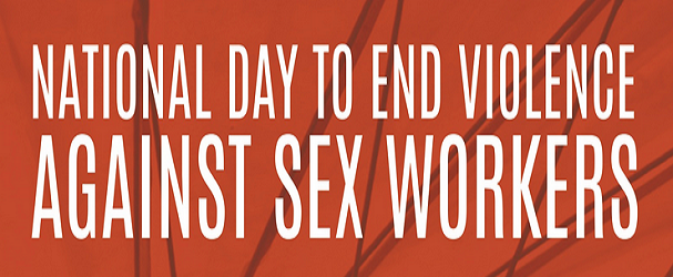 National Day to End Violence Against Sex Workers Logo
